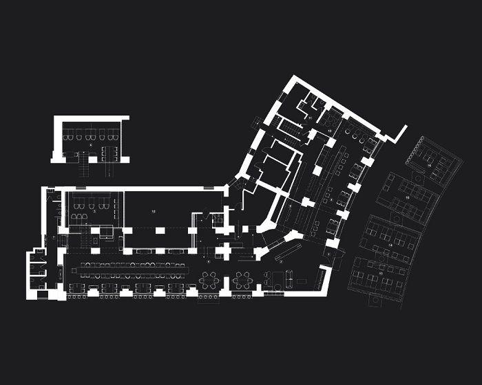 Bao Restaurant Architecture Dsign Id251 - Bao Restaurant Ukraine By Yod - Restaurants Designs - Architecture Design - Interior Art Designing