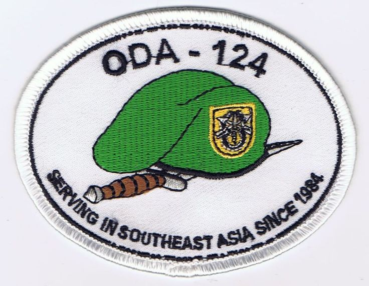 1ST SPECIAL FORCES GROUP, ODA-124 PATCH