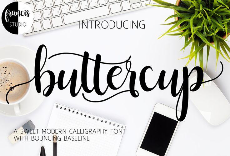 Download Buttercup   dafont.com   Dafont calligraphie, Dafont ...