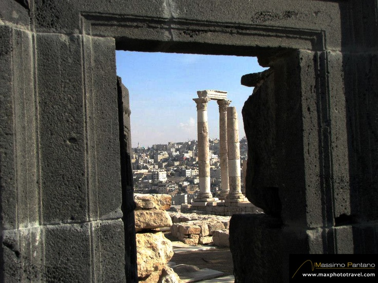 AMMAN, Giordania. Porta di Lava - MaxPhotoTravel