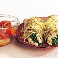 Recept - Spinazie-zalmpannenkoeken - Allerhande