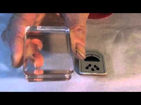 Ensuring unmounted stamps adhere to the clear blocks: Cards Embossing Stamps, Cards Crafts Tutorials Videos, Scrapbooking Cards, Alcohol Ink, Simply Cards, Baby Wipes, Cards Tutorials