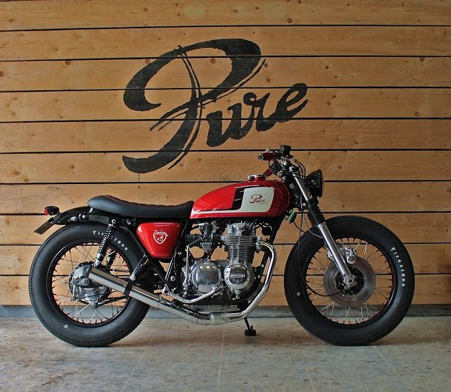 "Honda Brat Style #25 ""Time Less"" by Pure Motorcycles #bratstyle #motos 