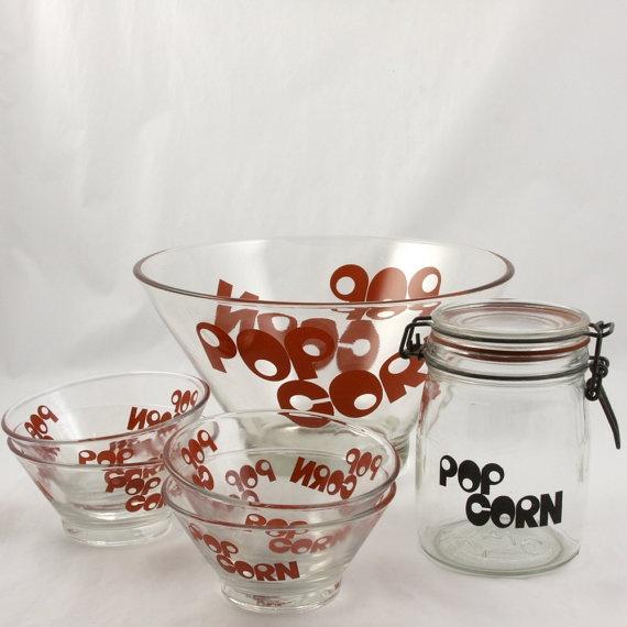 Vintage Popcorn Bowl 36