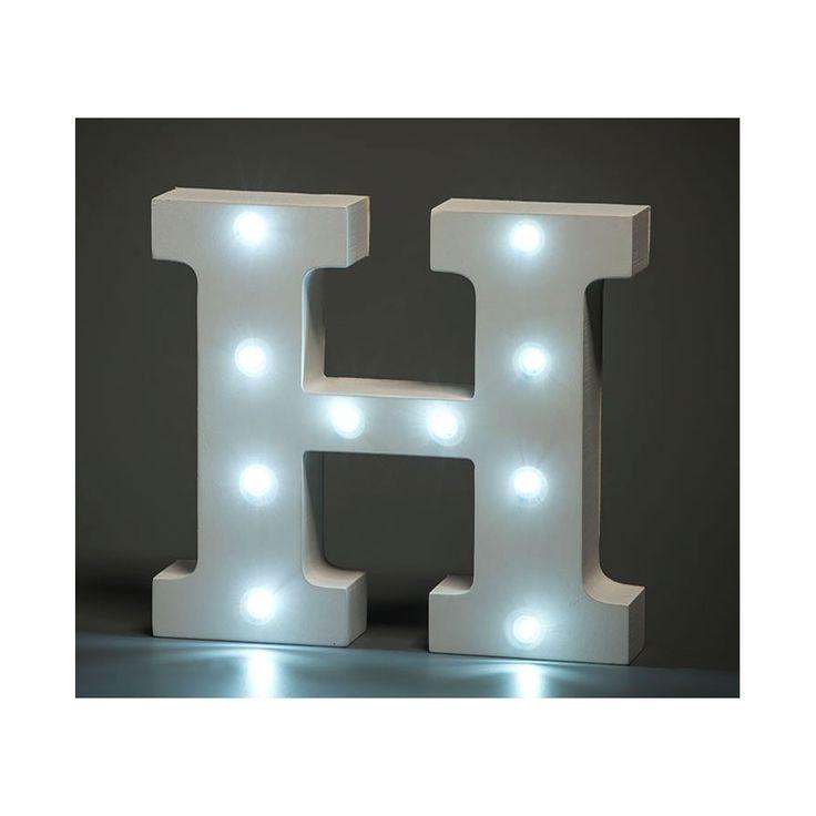 Lampa bokstav A