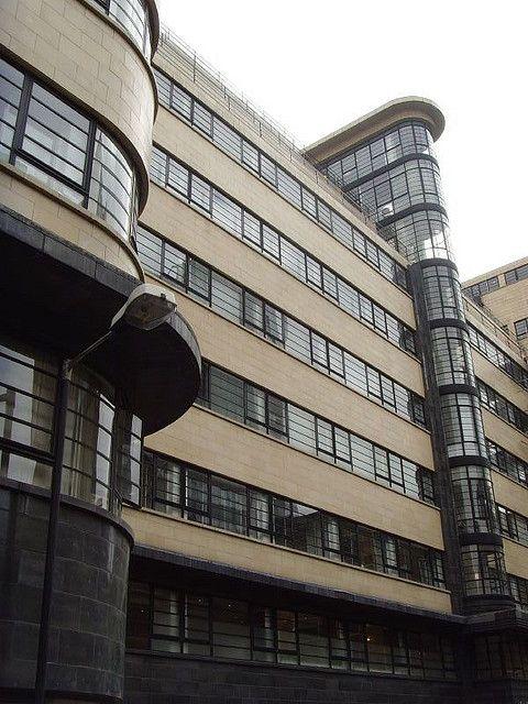 Ibex Building 1937: London art deco