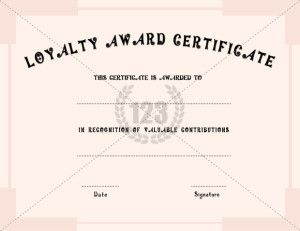 21 best images about Appreciation Certificate on Pinterest ...