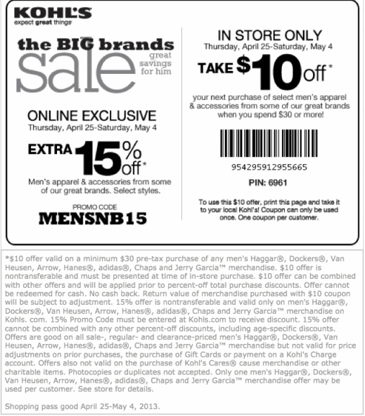 khols printable coupons 17 best images about kohls coupons on great 22666 | a385cba9be57c18514c5818bfa37ebe9