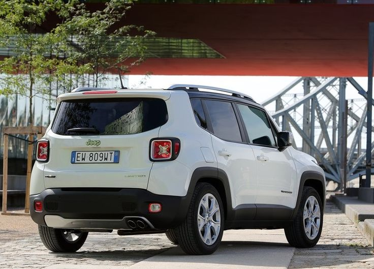2015 Jeep Renegade Back Angle