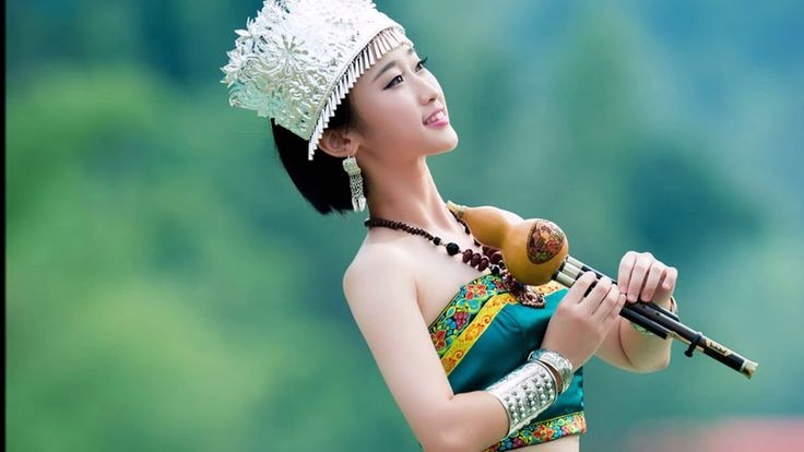 ◈ Relaxing Magic Music - Chinese Bamboo Flute  Hulisi (Positive Image Sl...