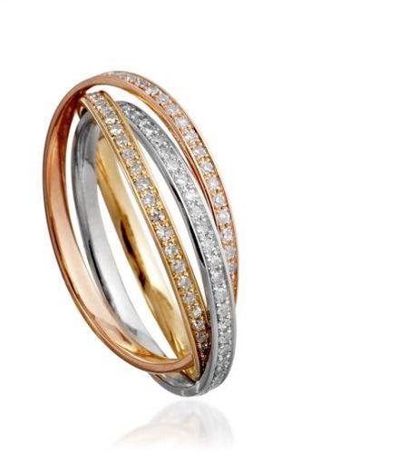 Diamond Russian Wedding Rings - Lyst