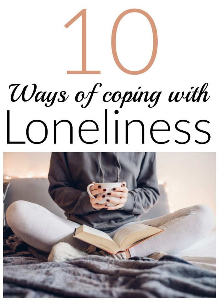 10 great ideas for coping with loneliness.