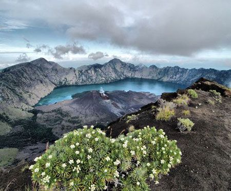 The Rinjani hiking was lauded in the award citation as a place doing superb work in protecting its overall natural and cultural heritage