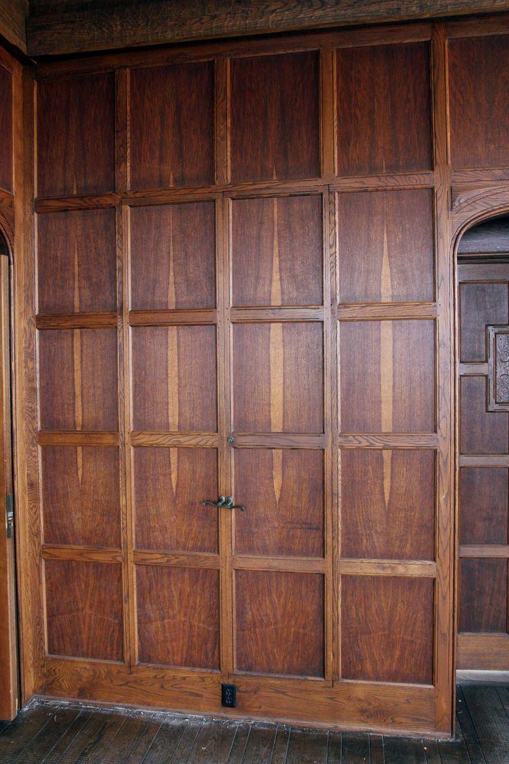 English Paneled Room