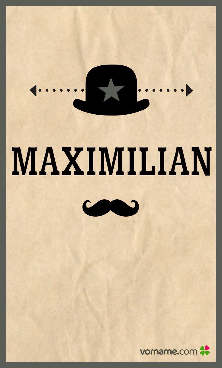 Maximilian ist ein klassischer deutscher Vorname und daher zu jeder Zeit sehr beliebt. Hier kannst Du nachlesen, was der Name bedeutet und woher er stammt.