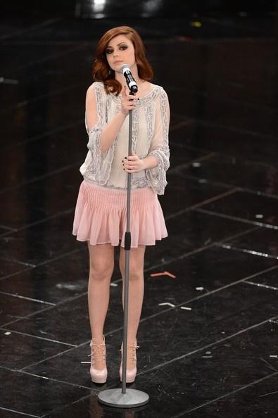 #Annalisa #scarrone a Sanremo 2013