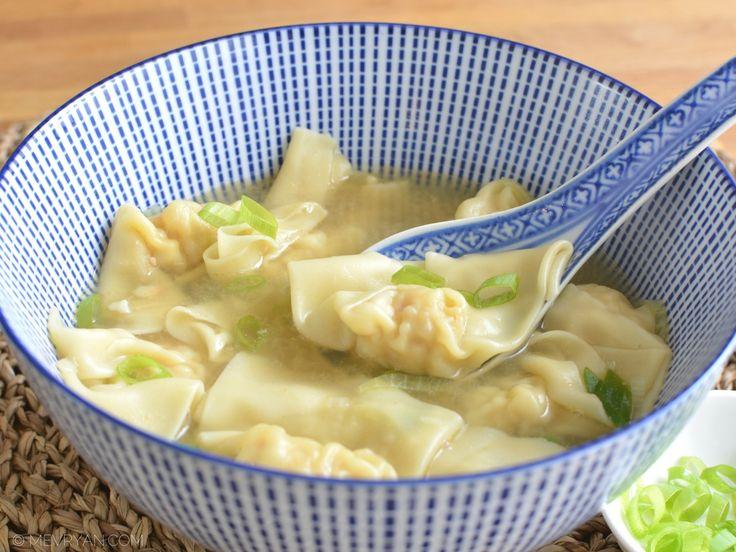 #Recept #wonton #soep #Aziatisch #Chinees #koken