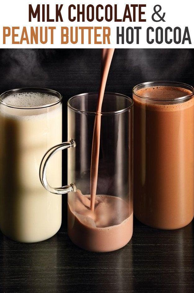 Milk Chocolate & Peanut Butter Hot Cocoa