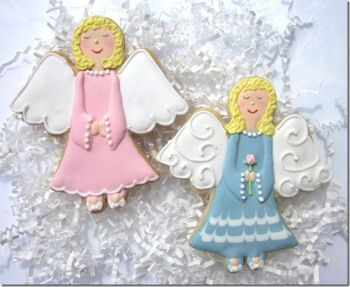 First Holy Communion Unique Angel Cookie Favors http://www.alittlefavor.com/products/116/crcangel/first-holy-communion-unique-angel-cookie-favors.html