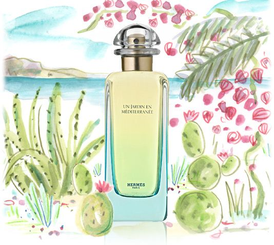 Jardin en Méditerranée - This remind's  me of a Tuscan Bar - smokey, leather and woody - amazing on a male...
