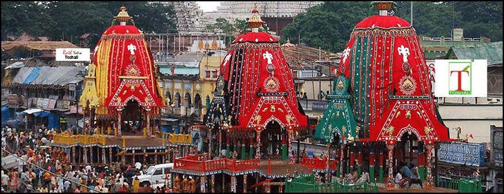 The Grand Chariots of Lord Jagannath, Balabhadra & Subhadra