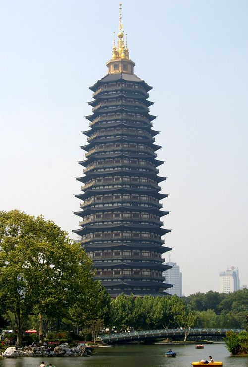 Pagode du temple de Tianning