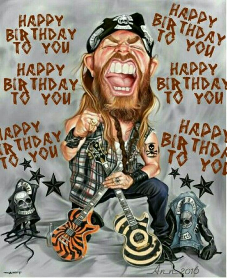 Rock 'n Roll birthday wishes (With images) Happy