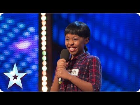 Asanda Jezile the 11yr old diva sings 'Diamonds' -GOT SOME MEAN MOVES!!!!!      Week 3 Auditions | Br...