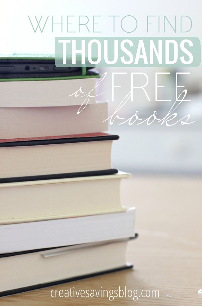 Love to read, but can't afford to spend money on books? Here's how to find thousands of free books with absolutely no strings attached!