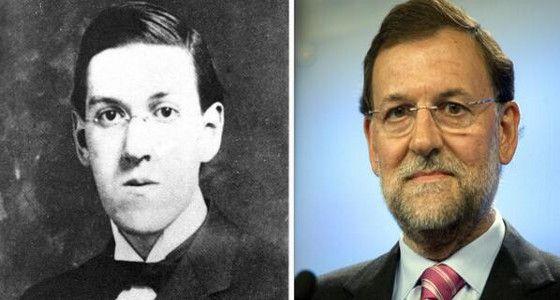 Parecidos razonables : Rajoy y Lovecraft