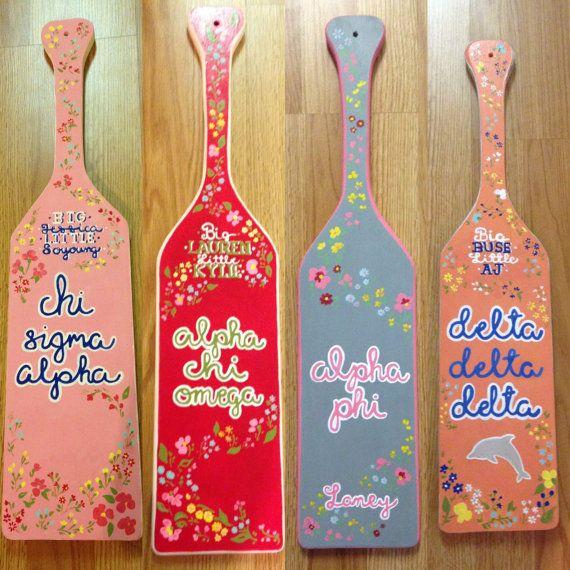 1598 best Sorority Paddles images on Pinterest   Greek paddles ...
