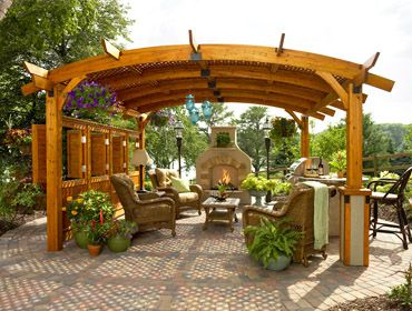 Pergolas, Trellis, Gazebos by Pasadena Landscape contractors are licensed & Insured craftsman who design and build beautiful outdoor structures such as ...
