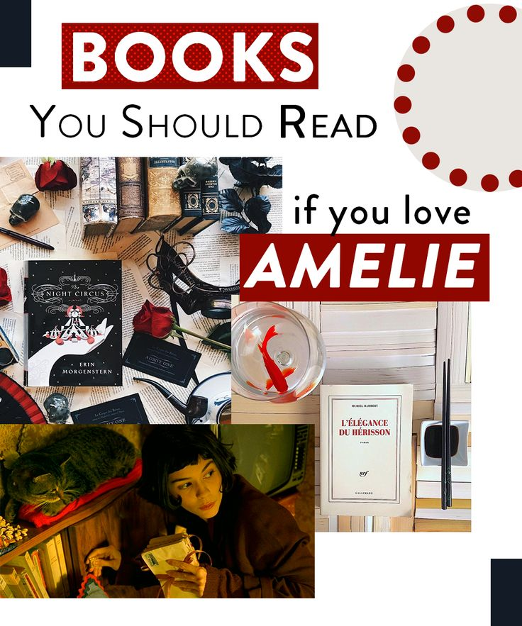 Novels that are like Amelie