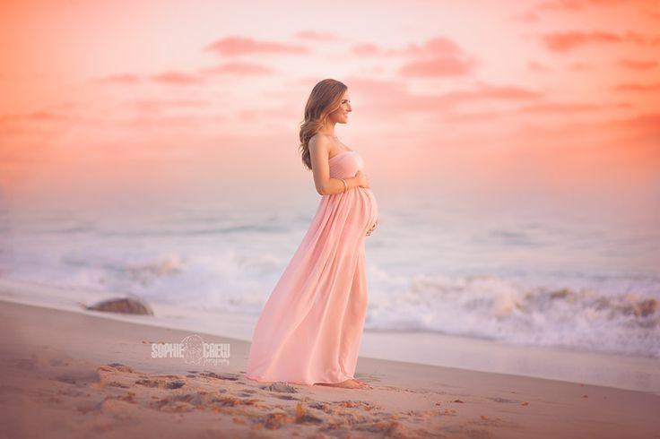 La Jolla Maternity Beach Session at Windansea 92037 Sophie Crew Photography