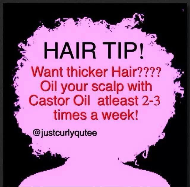 Trick to thicker hair