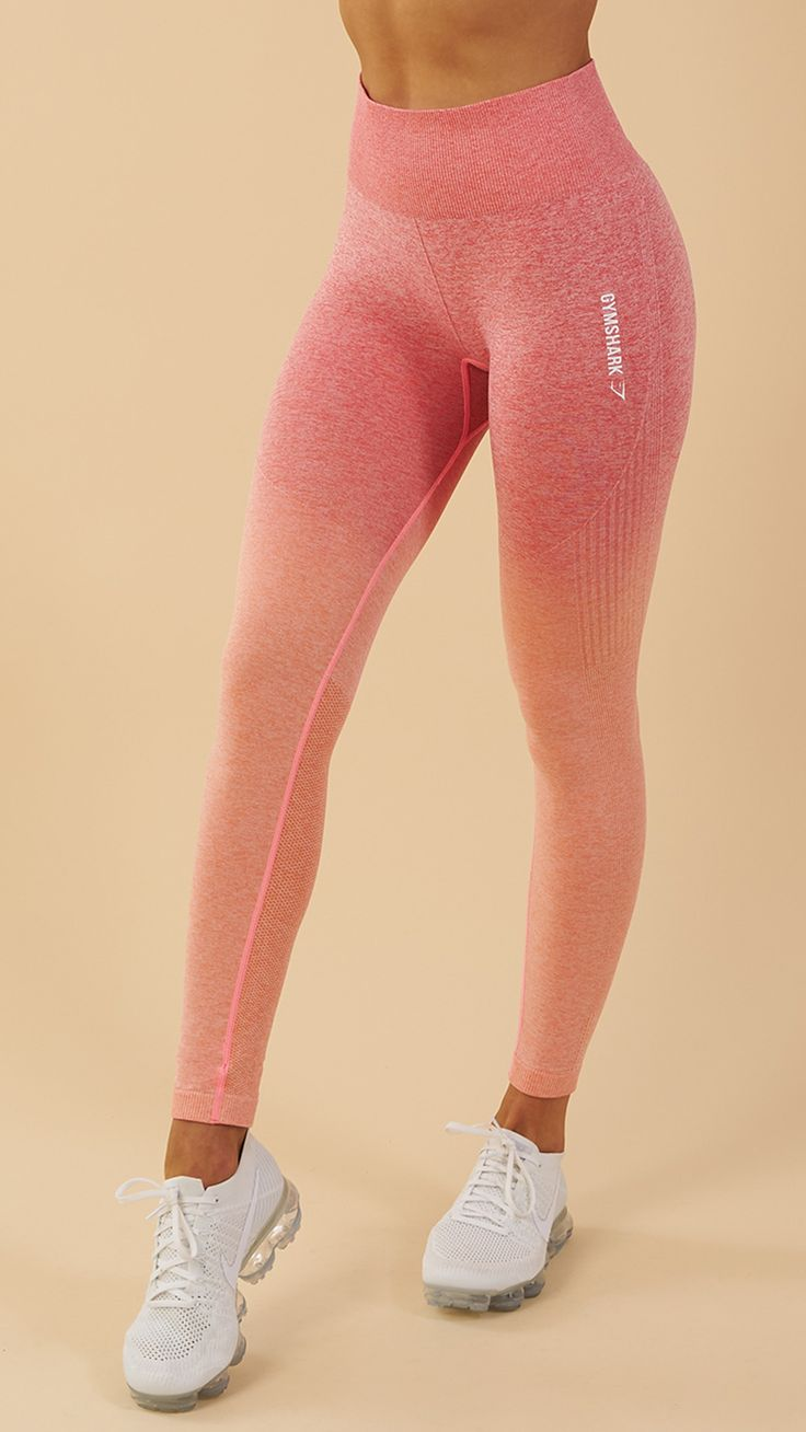 Soft and stunning with a second-skin feel, the Gymshark Ombre Seamless Leggings ... 2