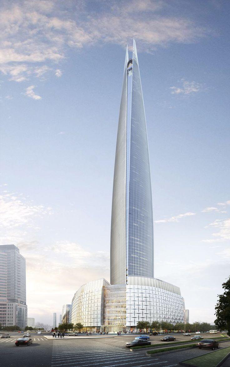 SEOUL | Lotte World Tower | 555m | 1819ft | 123 fl |