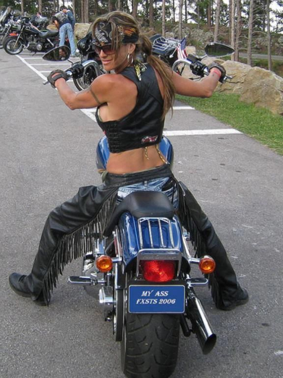 Biker chick  on www.bikerchicksdating.com