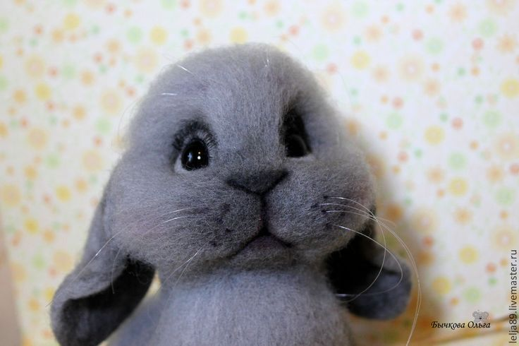 """Купить Кролик """"Сеня"""" - кролик, кролики, авторская ручная работа, ручная работа, крольчонок"""