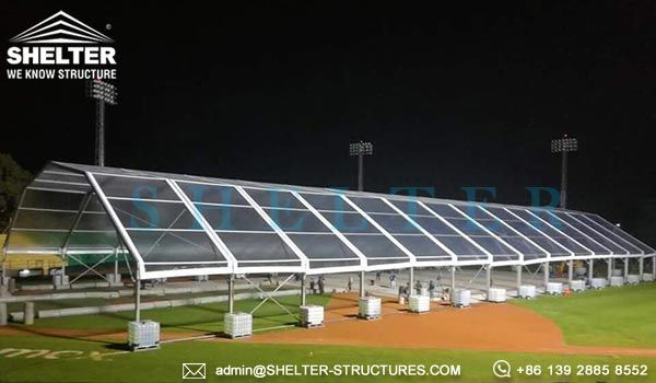 How Much Does A Large Event Tent Cost As The Direct Tent Supplier And Manufacturer Shelter Sells Temporary Clear Span Tents At Econ Event Tent Tent Tent Sale
