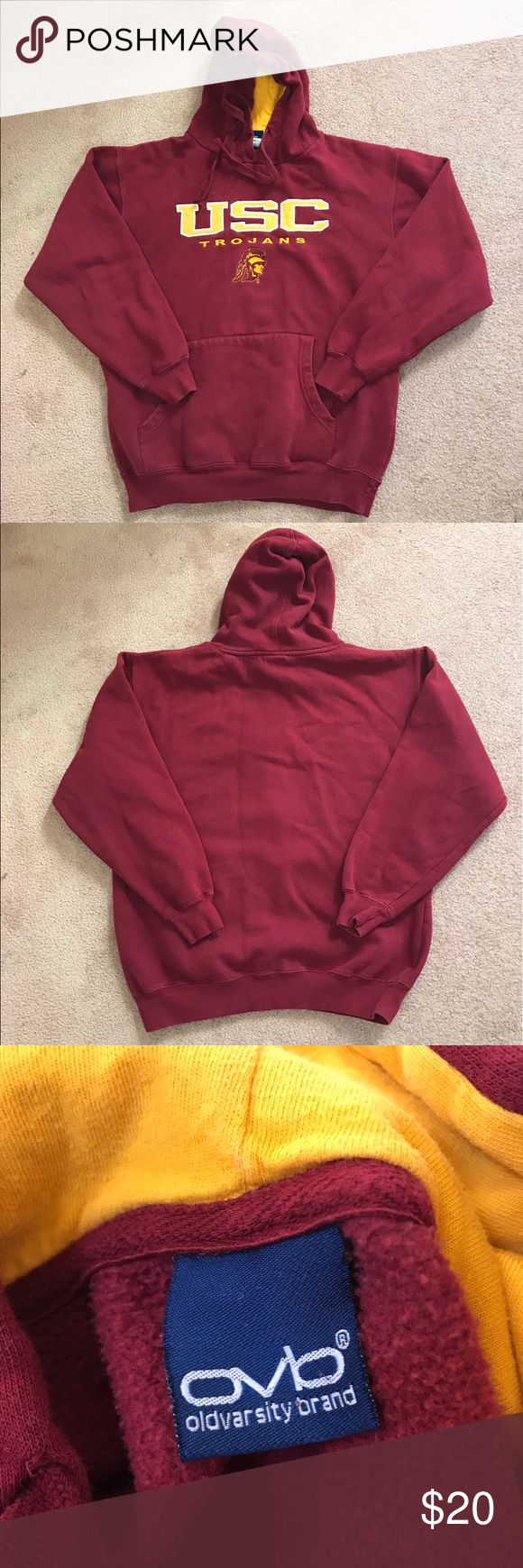 USC Hoodie USC college hoodie, adult large, good condition Sweaters