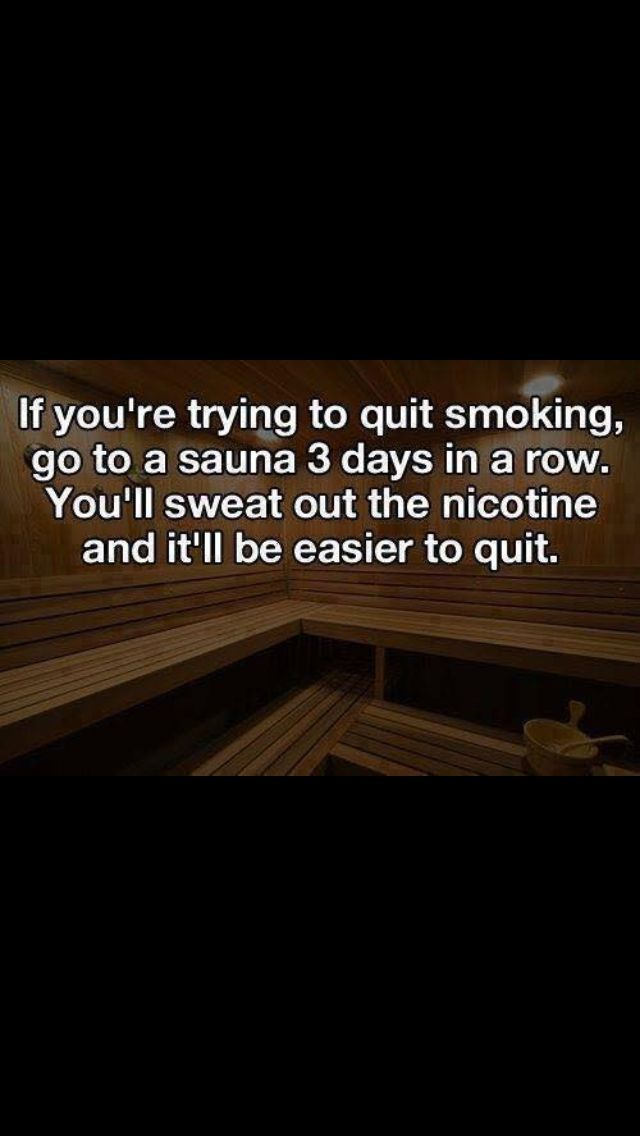Trying to quit?