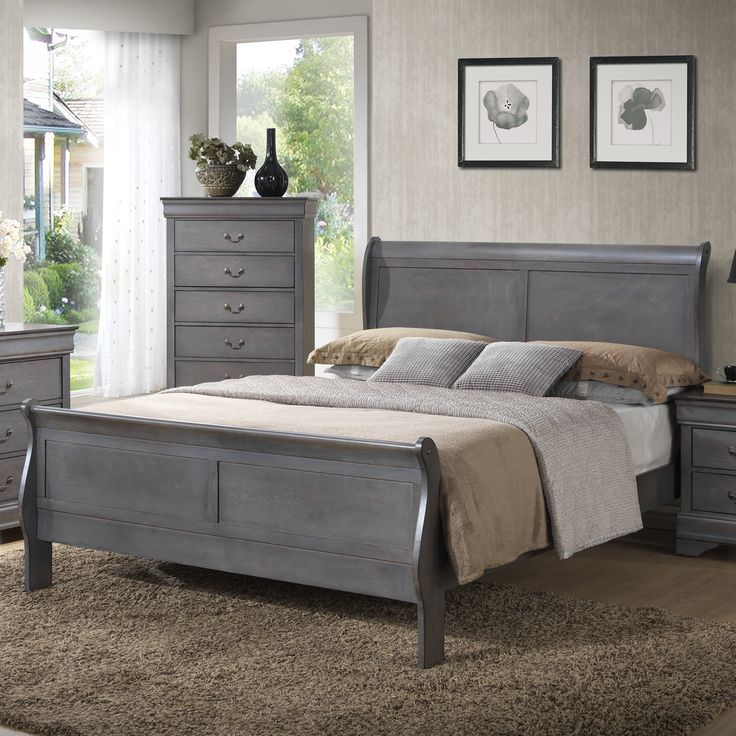 Best 25+ Sleigh bed painted ideas on Pinterest   Cherry wood ...