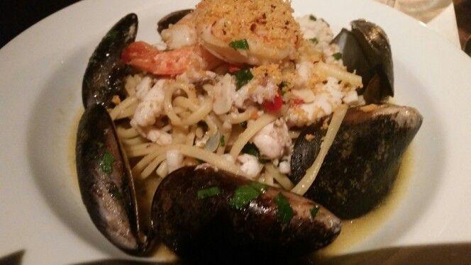 Seafood linguine @ fog