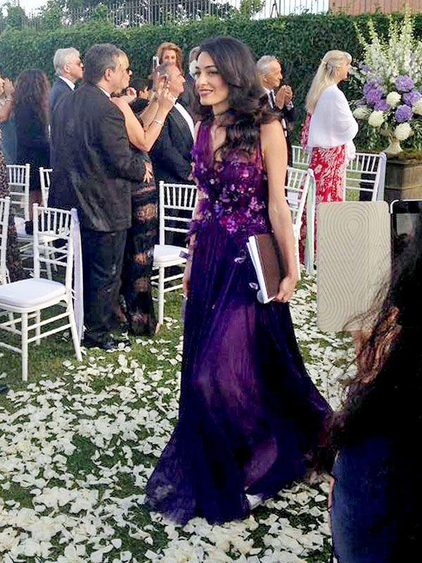 Wedding Dress Amal Alamuddin Mother