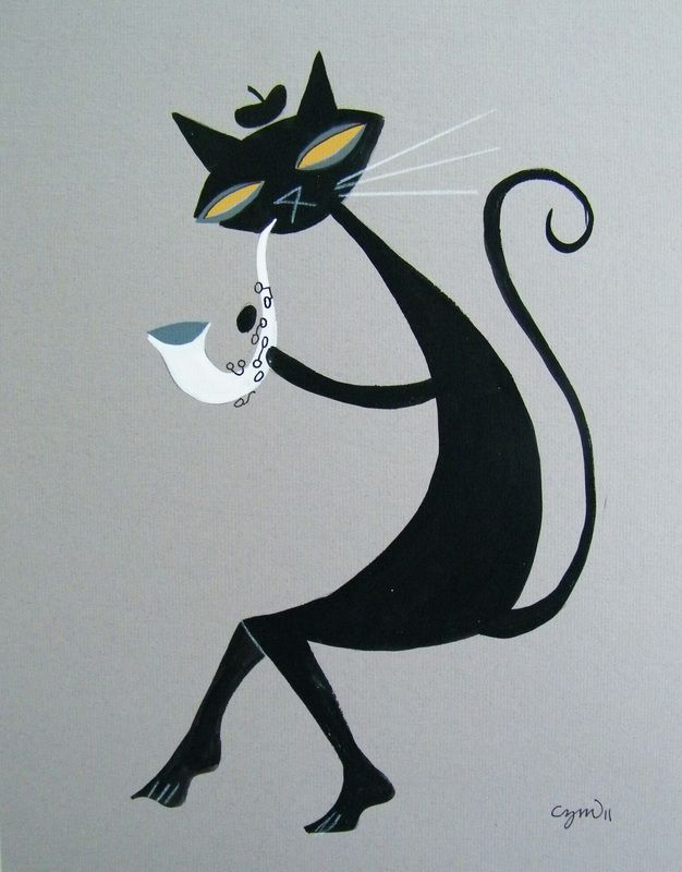 Cats - El Gato Gomez Art