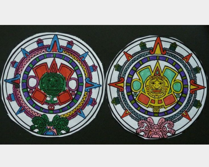 Aztec Calendar Art Lesson : Best multicultural crafts images on pinterest