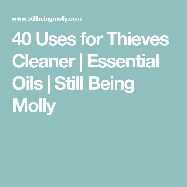 Best 25 Thieves Cleaner Ideas On Pinterest Young Living
