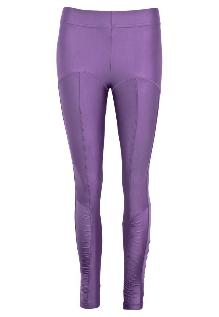 Calça Mulher Elástica Nice Roxa - Compre Agora   Dafiti Sports Brasil