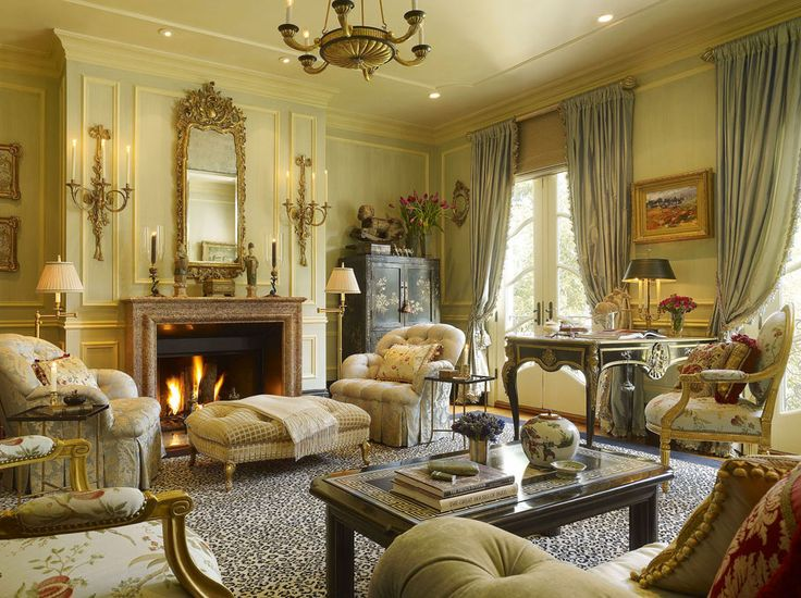 Pictures of cozy formal living rooms
